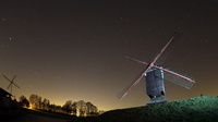 """Molen van 't veld"" by night"
